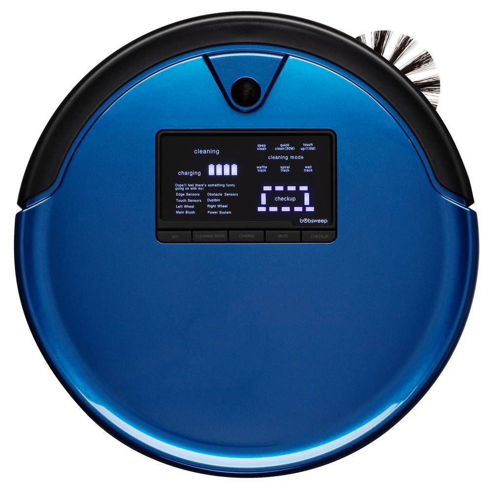 PetHair Plus Robotic Vacuum Cleaner and Mop, Cobalt