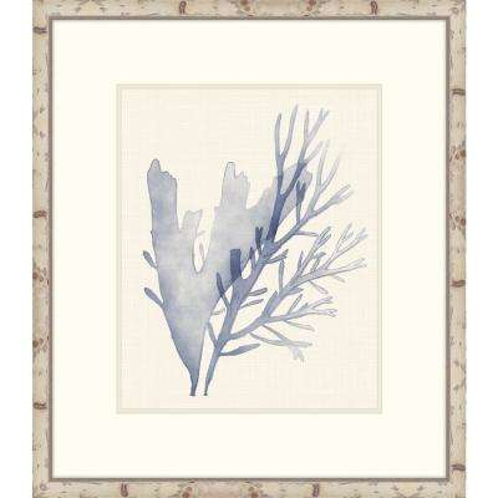 "31 in. x 27 in. ""Sea Grass V"" Framed Giclee Print Wall Art"