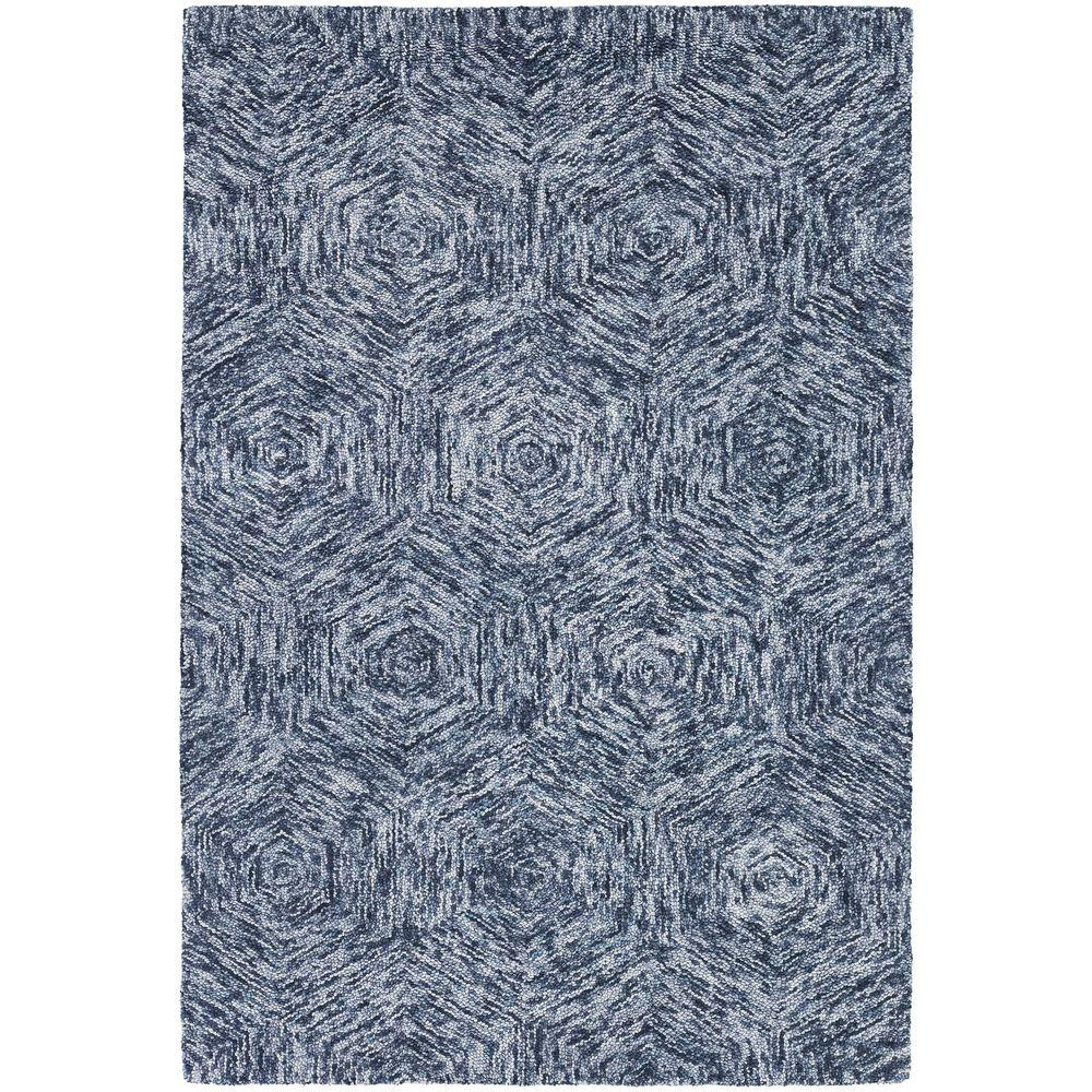 Home Decorators Collection Anatole Deep Blue Ivory 8 ft x