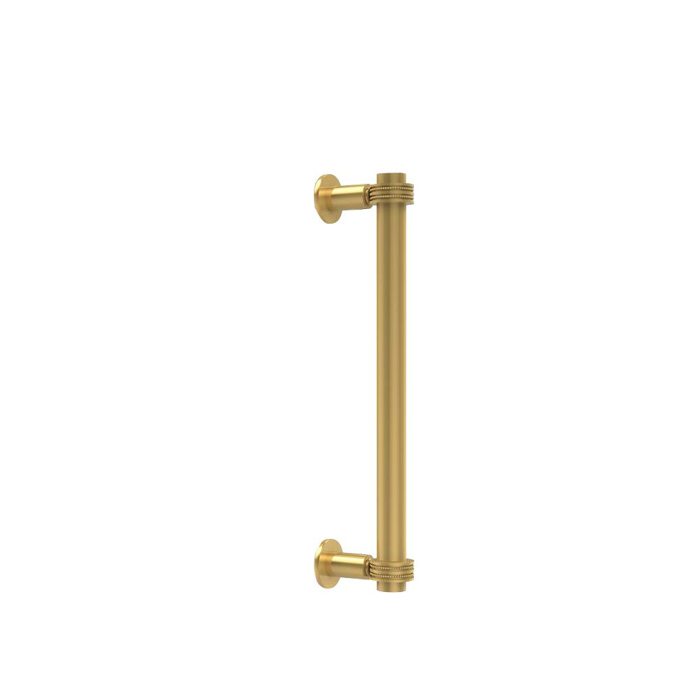 Contemporary 12 in. Back to Back Shower Door Pull with Dotted