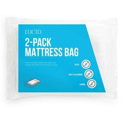 King Mattress Moving and Storage Bags (Pack of 2)