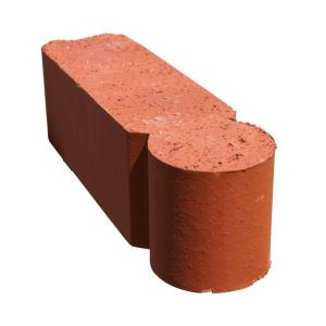 Spinner 12 in  x 3 in  x 3 5 in  Clay Red Edger-070700200 - The Home Depot