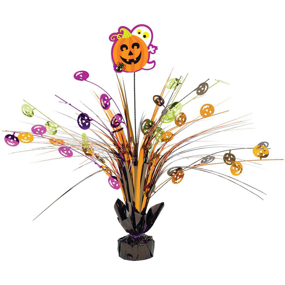 18 in. Halloween Foil Spray Centerpiece (2-Pack)