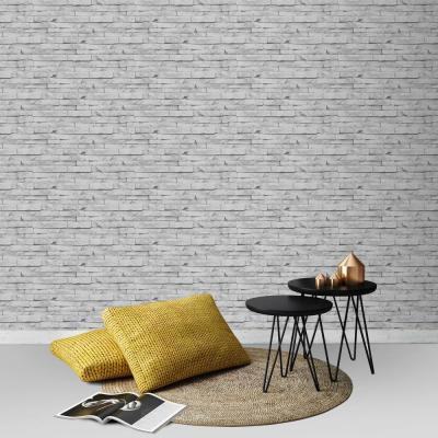 Strata Odysee White Removable Wallpaper