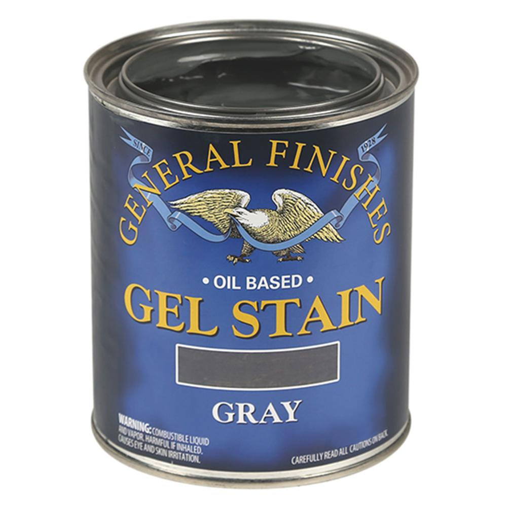 General Finishes 1-qt. Gray Oil-Based Interior Wood Gel ...
