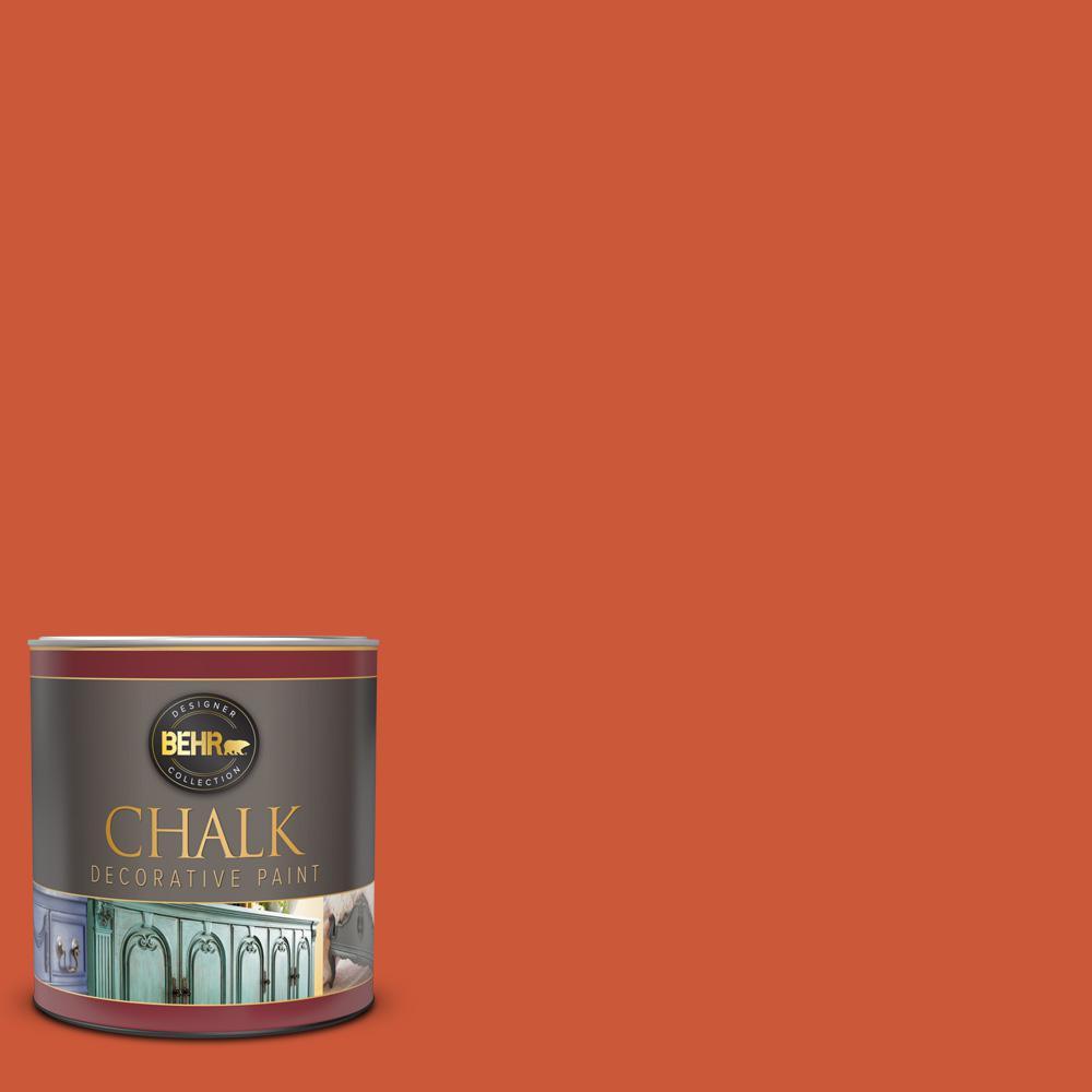 BEHR 1 qt. #BCP04 Carousel Red Interior Chalk Decorative Paint