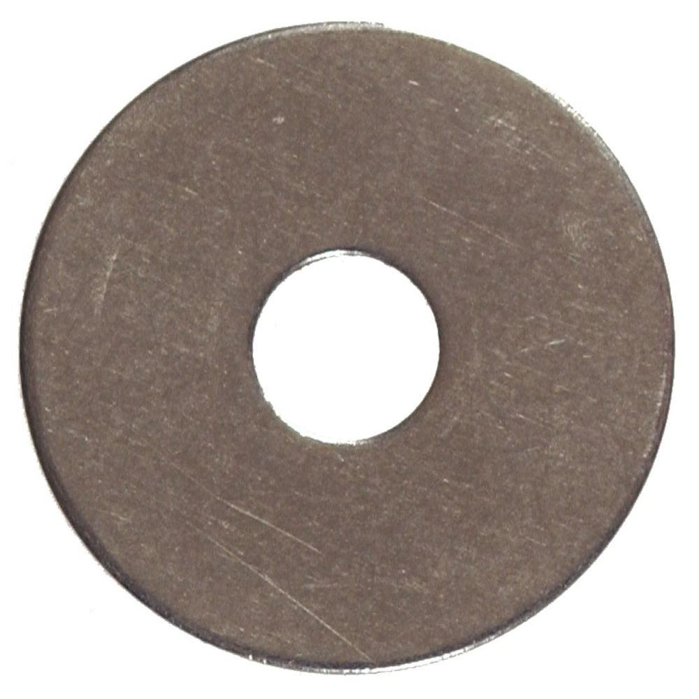 The Hillman Group 9/32 in. x 47/64 in. Stainless-Steel Fender Washer Caps (20-Pack)