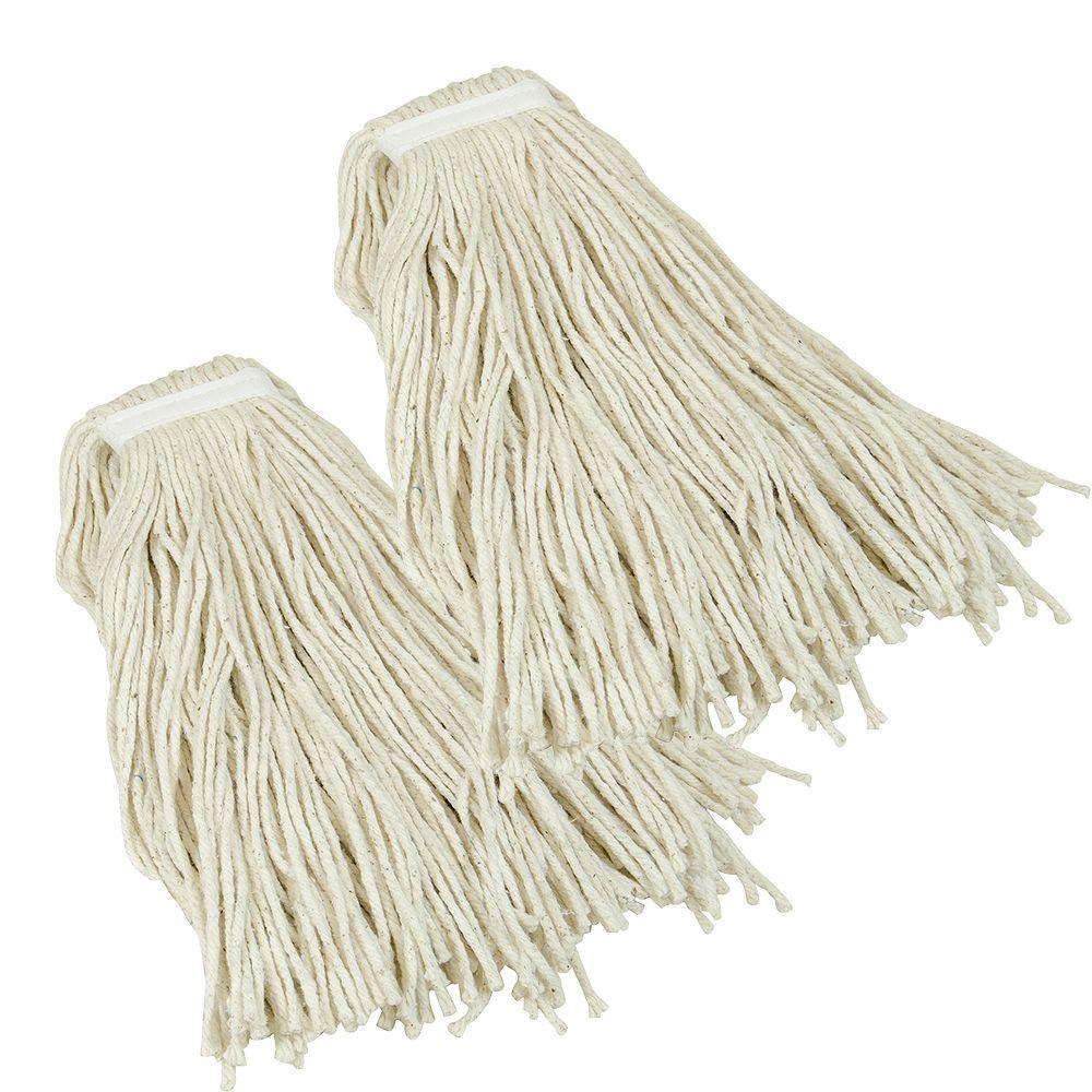 Quickie Jobsite #32 Heavy-Duty Wet Mop Head Refill (2-Pack)