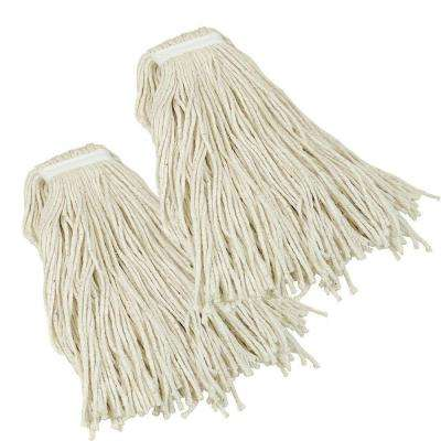 Jobsite #32 Heavy-Duty Wet Mop Head Refill (2-Pack)