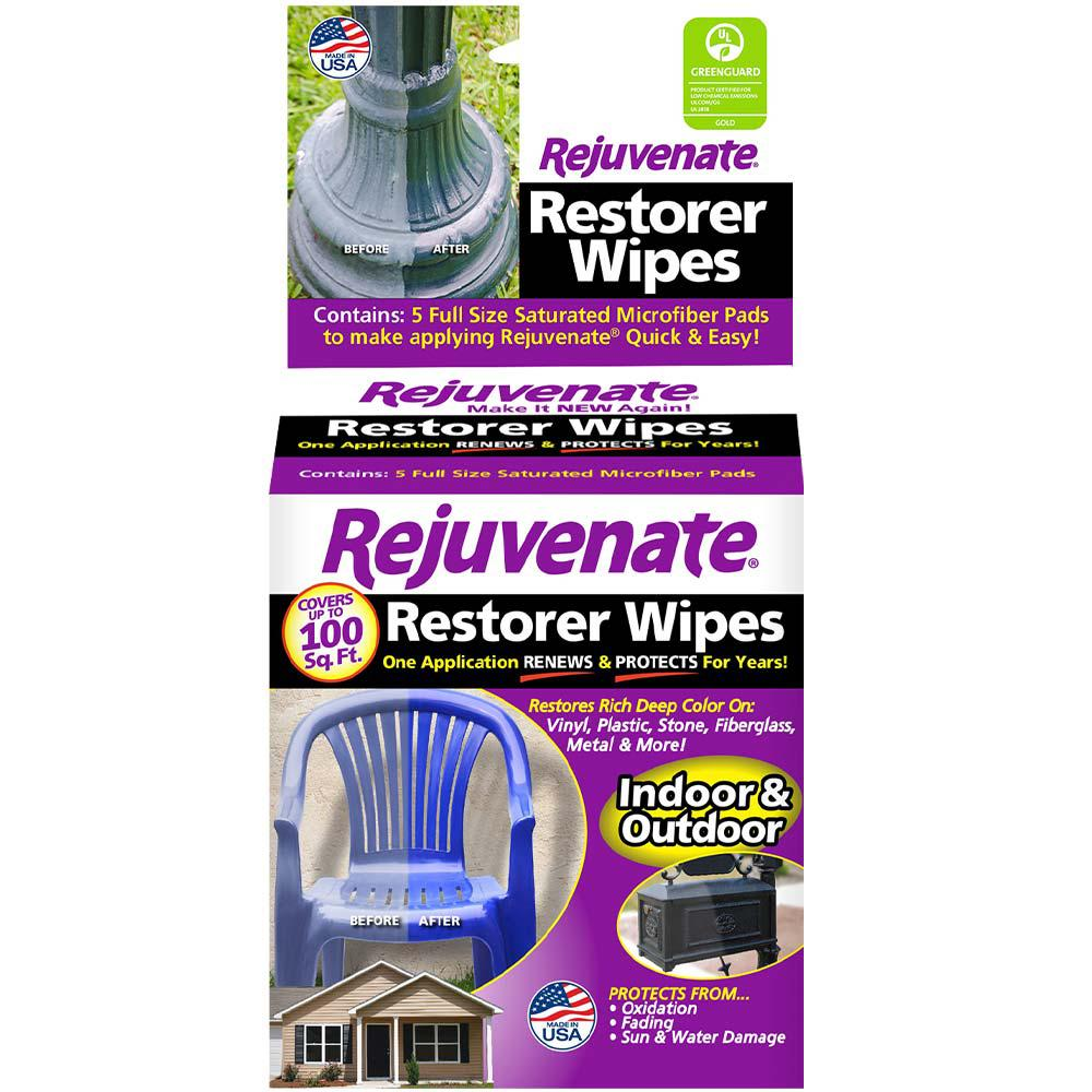 Rejuvenate Pre-Saturated Restorer Wipes (5-Pack)