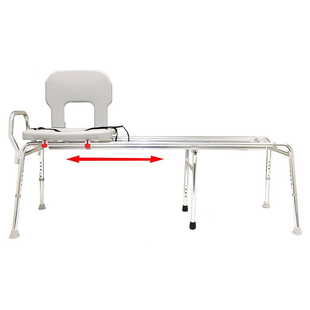 Eagle Sliding Transfer Bench: Eagle Health Supplies Toilet-to-Tub Sliding Transfer Bench