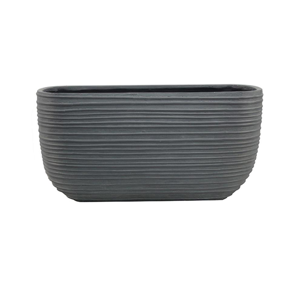 Southern Patio. Cabana 24 in. W x 9.5 in. H Resin Deck Rail Planter  sc 1 st  Home Depot & Southern Patio Cabana 24 in. W x 9.5 in. H Resin Deck Rail Planter ...