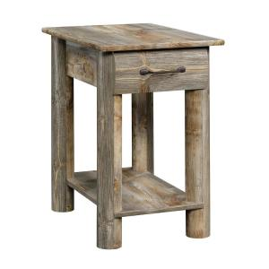 Boone Mountain Rustic Cedar End/Side Table