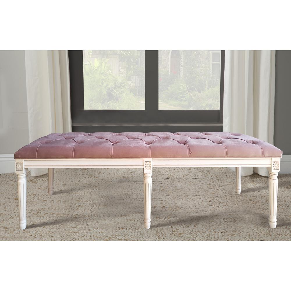 bench kids fuzzy kitchen com storage dining dp fabric amazon in pink