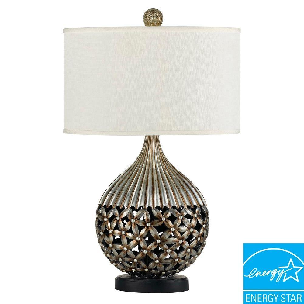 CAL Lighting 29 in. Biella Resin Table Lamp