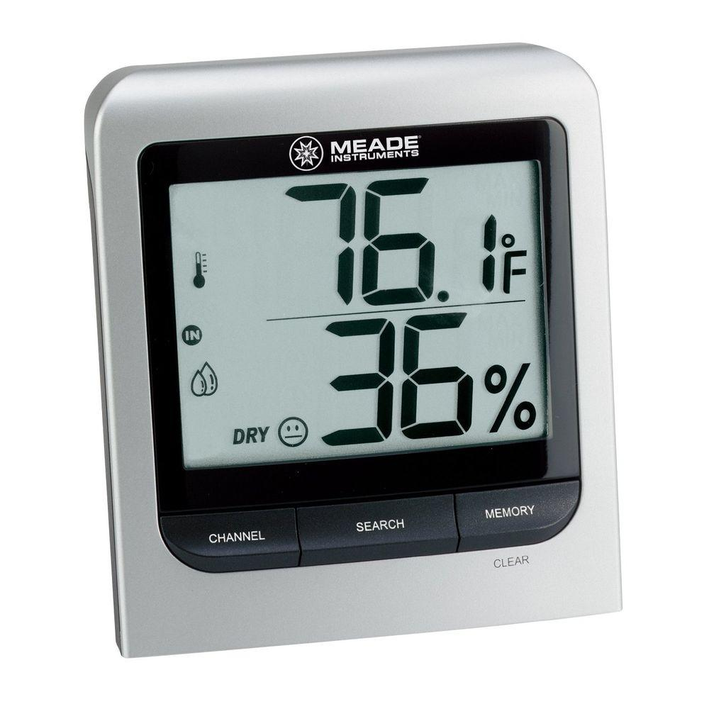 Meade Wireless Personal Weather Station with LCD Display and Remote Auto Scan Meade Wireless Personal Weather Station with LCD Display and Remote Auto Scan