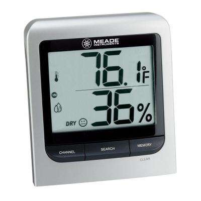 Wireless Personal Weather Station with LCD Display and Remote Auto Scan