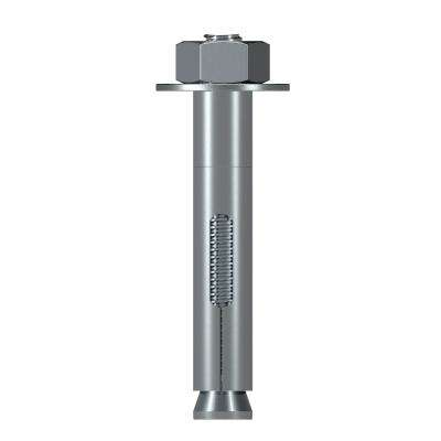Sleeve-All 1/2 in. x 3 in. Hex Head Zinc-Plated Sleeve Anchor (25-Pack)