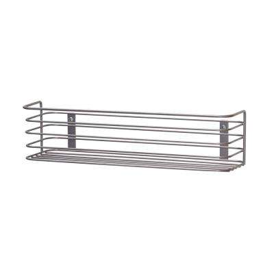 13.19 in. H x 3.43 in. W Door Mount Rack in Nickel