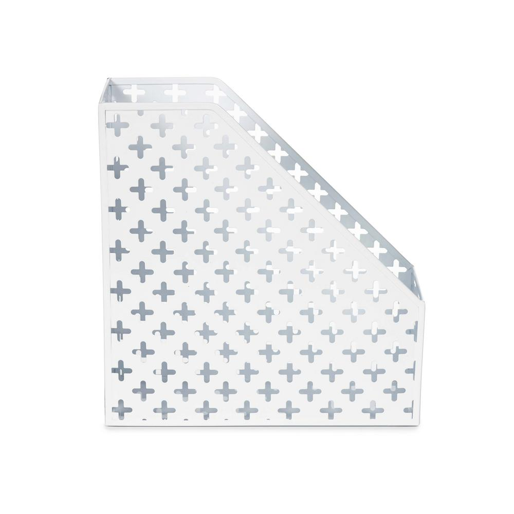 Euler Magazine File, White