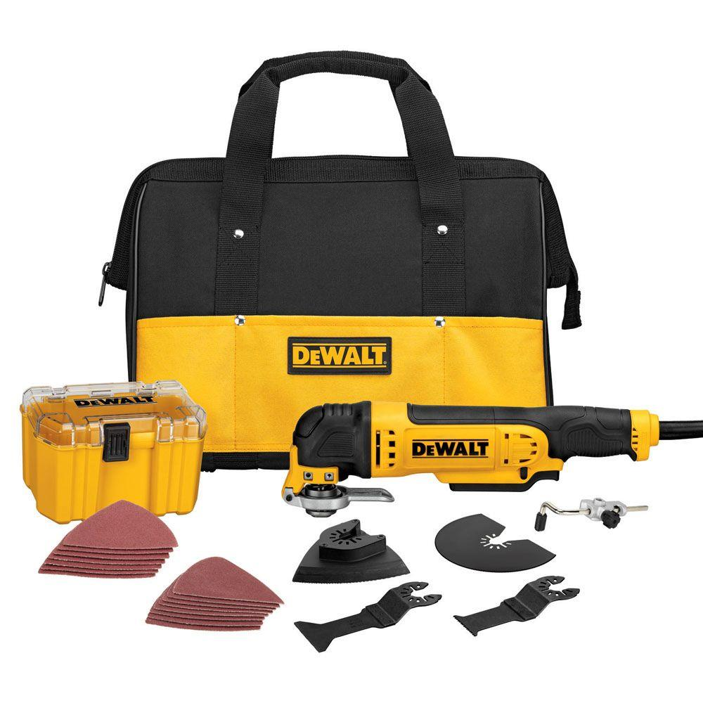 DEWALT 3 Amp Oscillating Multi-Tool Kit (29-Piece)