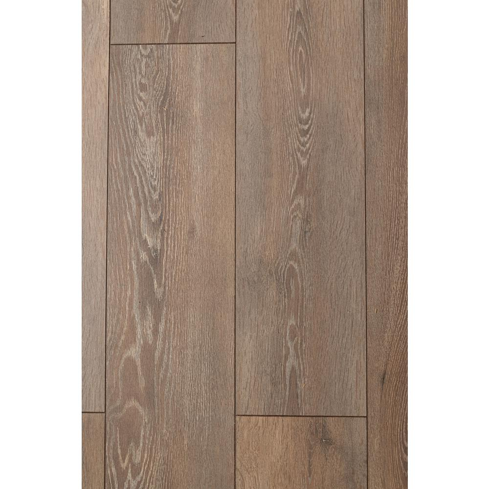 HomeDecoratorsCollection Home Decorators Collection Breckenridge Oak 12mm Thick x 8.03 in. Wide x 47.64 in. Length Laminate Flooring (15.94 sq. ft. / case), Light