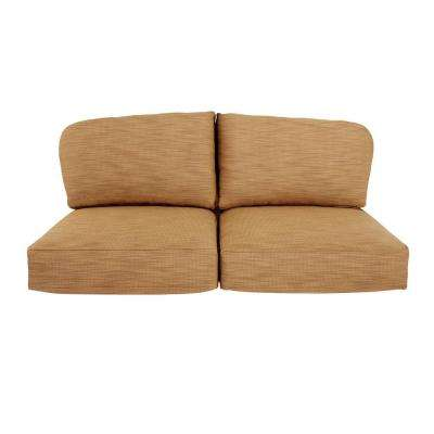 Northshore Replacement Outdoor Loveseat Cushion in Toffee