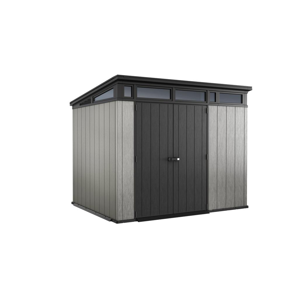 Artisan 9 ft. x 7 ft. Resin Storage Shed