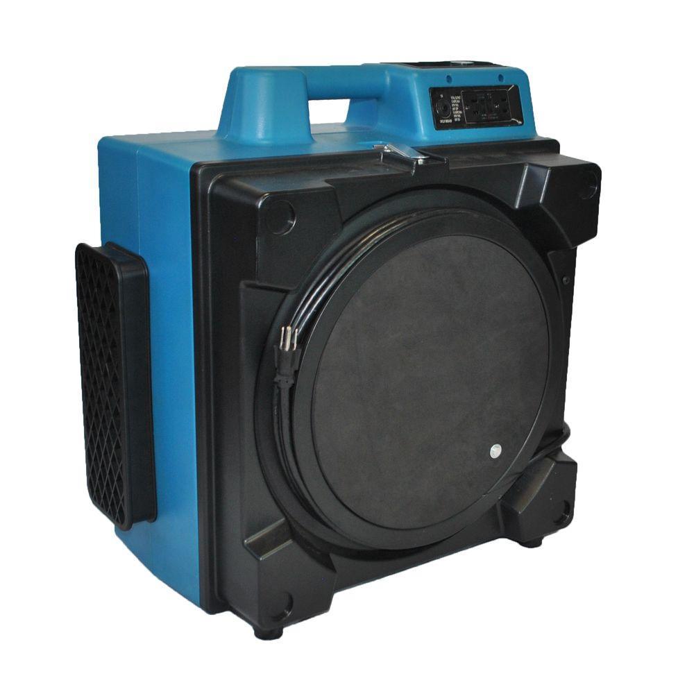 XPOWER 600 CFM 3-Filter HEPA Air Scrubber