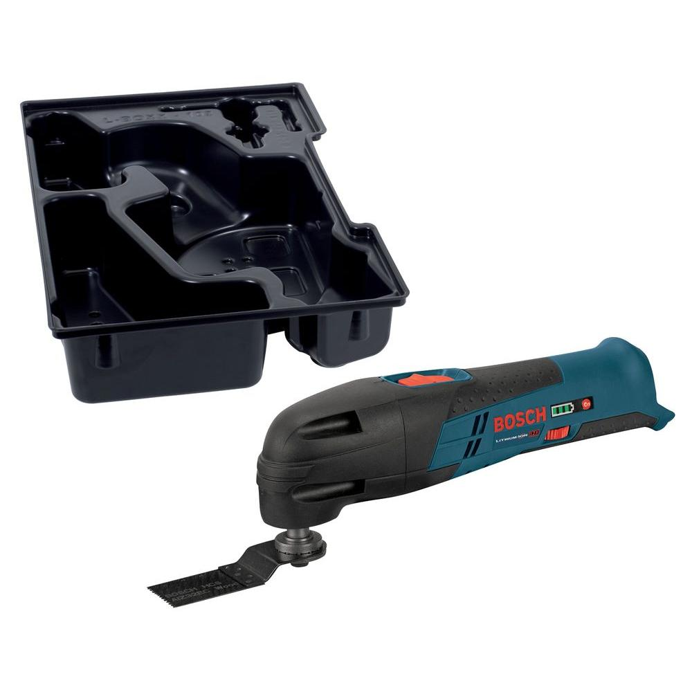 12 Volt Lithium-Ion Cordless Oscillating Tool with Exact-Fit Insert Tray for