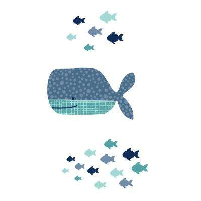 DreamIt Blue Little Whale Wall Decor