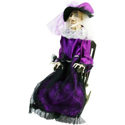 32 in. Touch Activated Talking Animatronic Witch