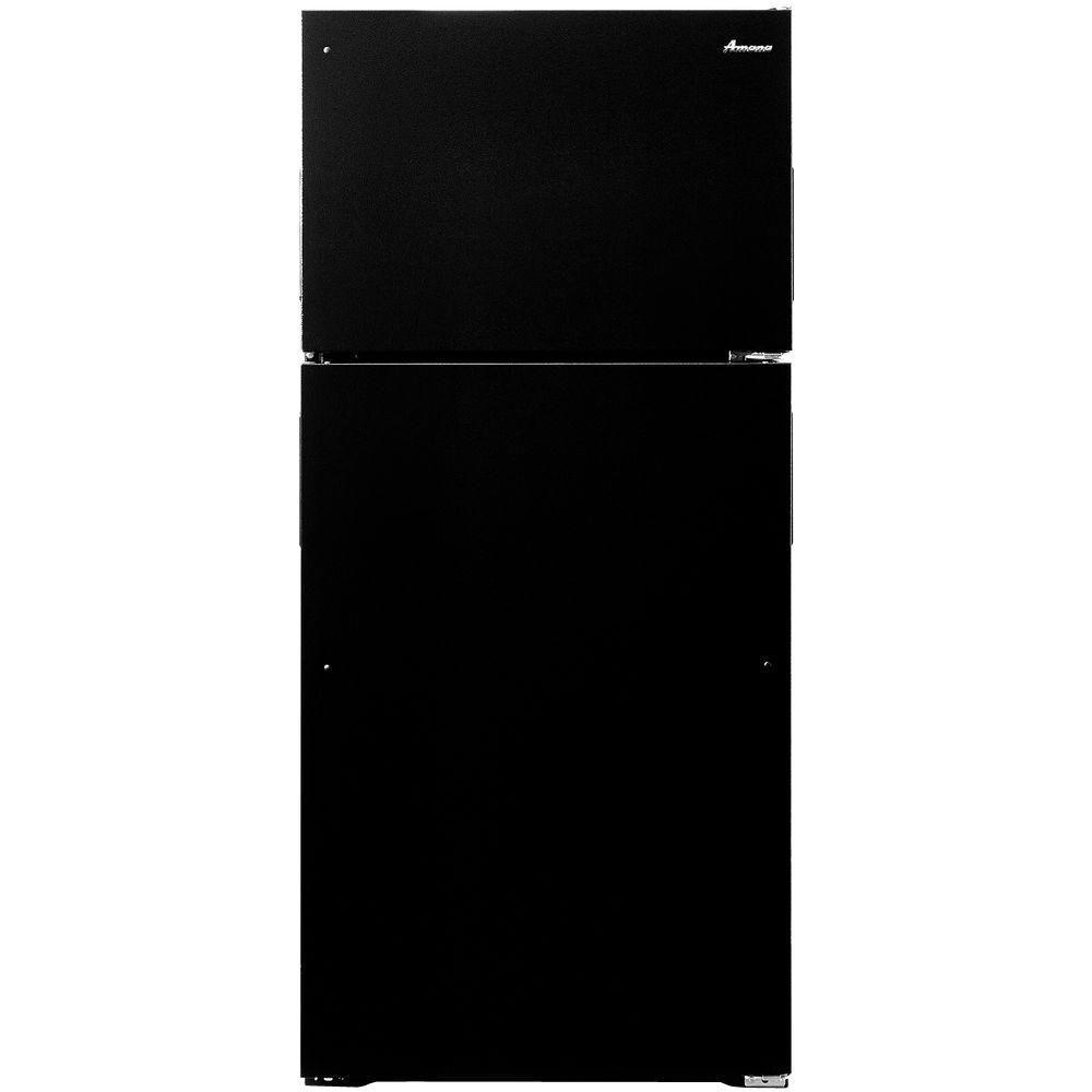 Amana 16 cu. ft. Top Freezer Refrigerator in Black