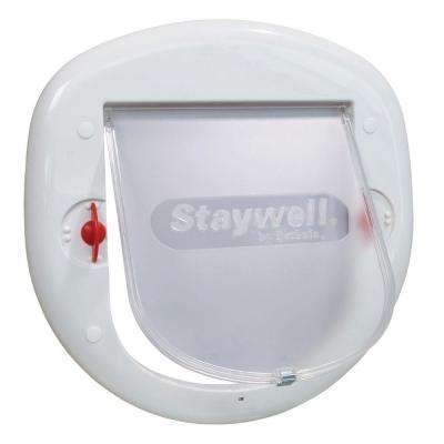 7-1/8 in. x 7-1/4 in. Big Cat Flap
