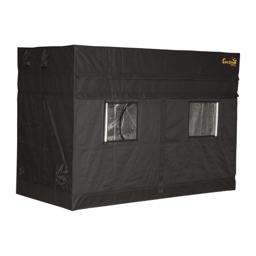 Black Shorty Grow Tent with 9 in. Extension Kit-GGTSH48 - The Home Depot  sc 1 st  Home Depot : tent grow - memphite.com