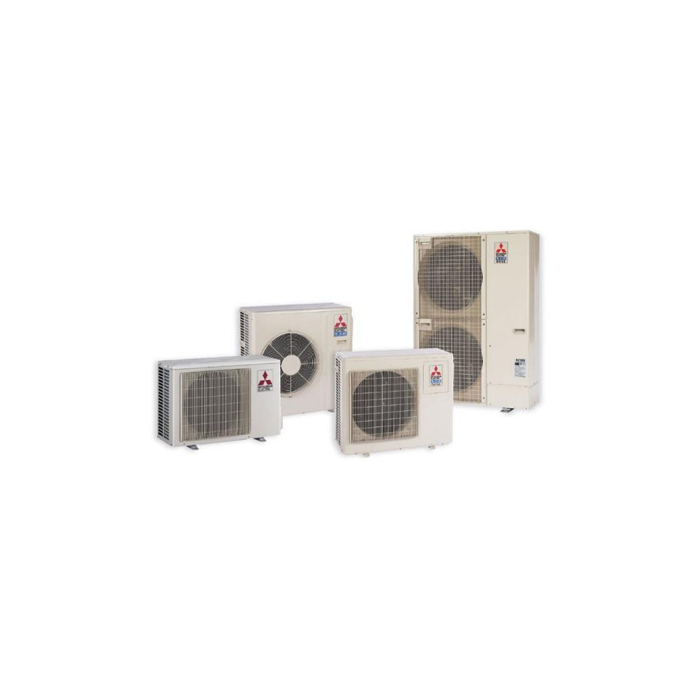 Installed M-Series Outdoor Ductless Mini-Split Heat Pump