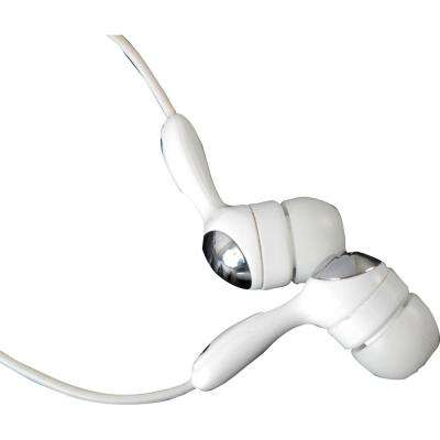 Earphones with Ear Buds - White
