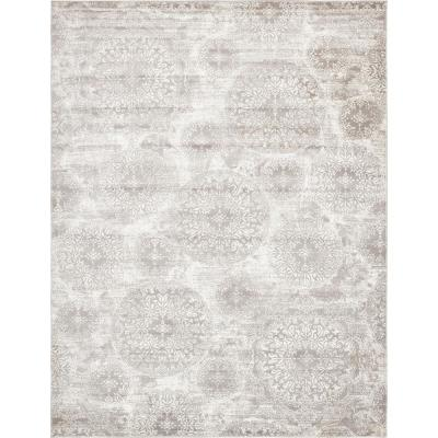 Glam Gray Area Rugs Rugs The Home Depot