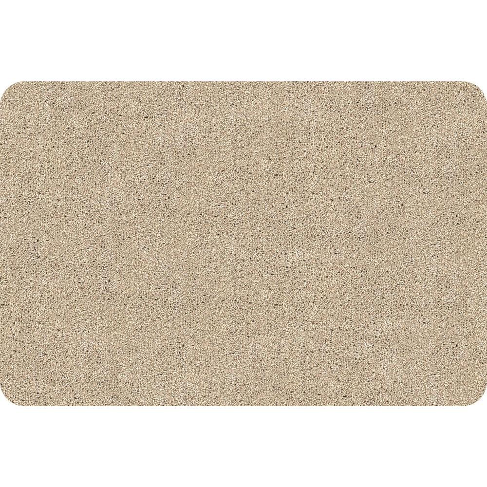 Bungalow Flooring DirtStopper Brown And White 20 In. X 30 In. Absorbent Mat