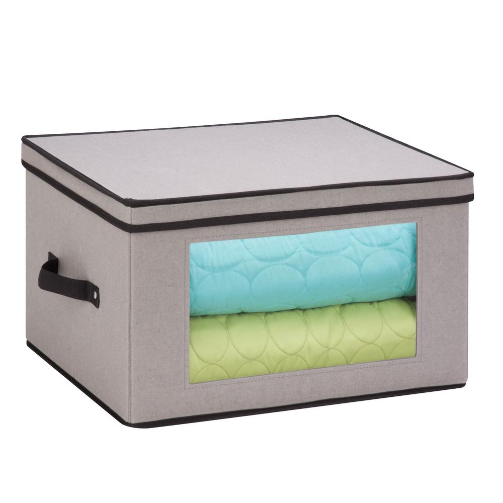 Dinnerware Storage Box 17 in. D x 13.5 in. W x