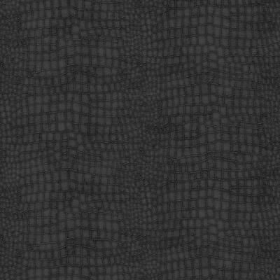 Black Crocodile Removable Wallpaper