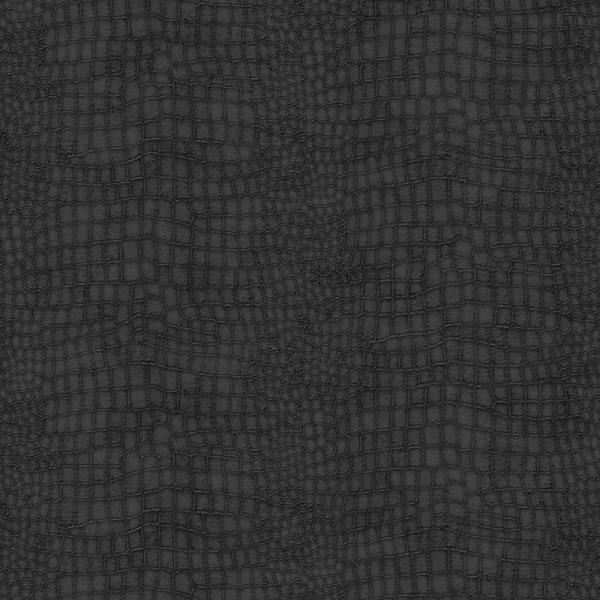 Graham & Brown Black Crocodile Removable Wallpaper 32-659
