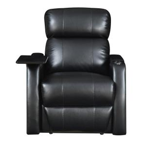 Cecille Black Power Recliner Uce911105pca The Home Depot