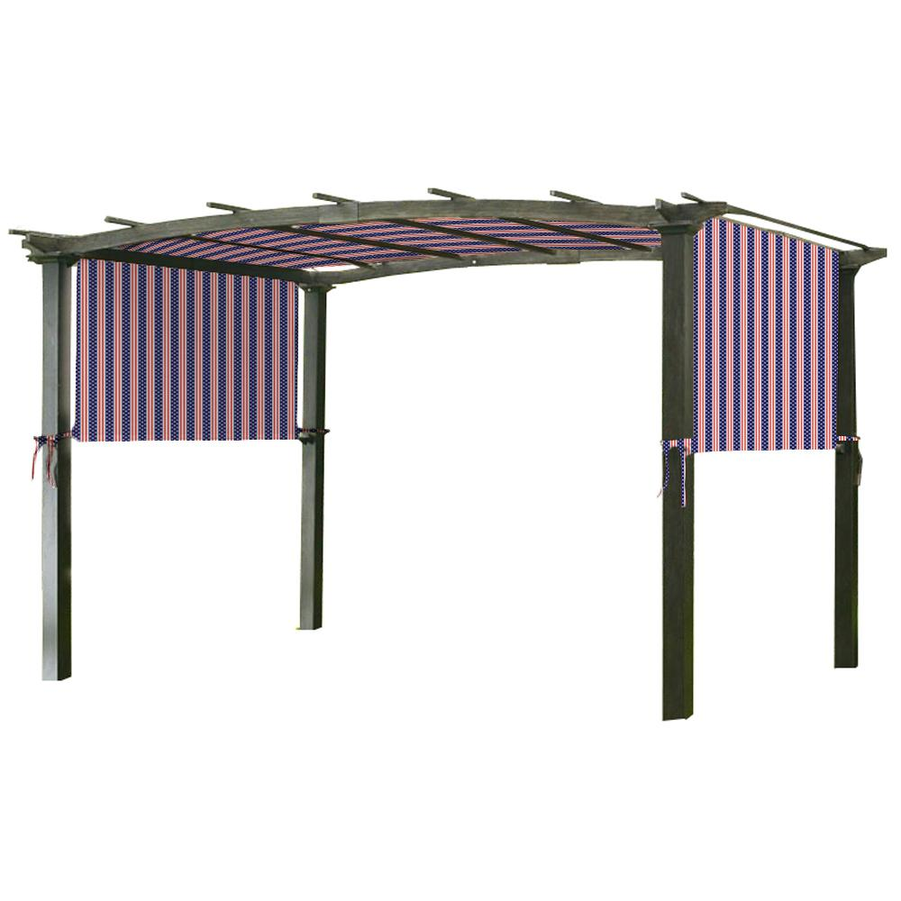 Garden Winds Universal Replacement Canopy Top Cover in Metal Pergola Frame