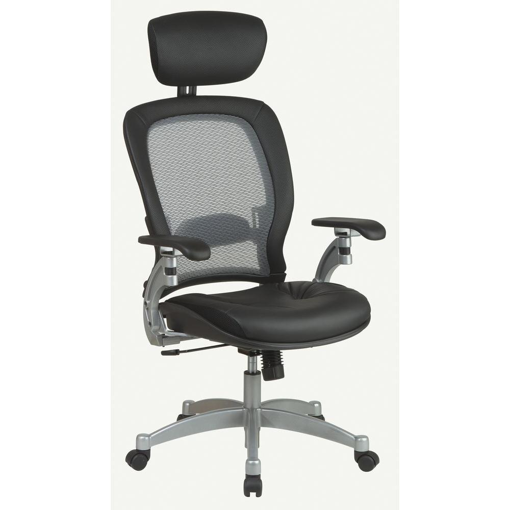 Beau Space Seating Gray AirGrid Back Office Chair