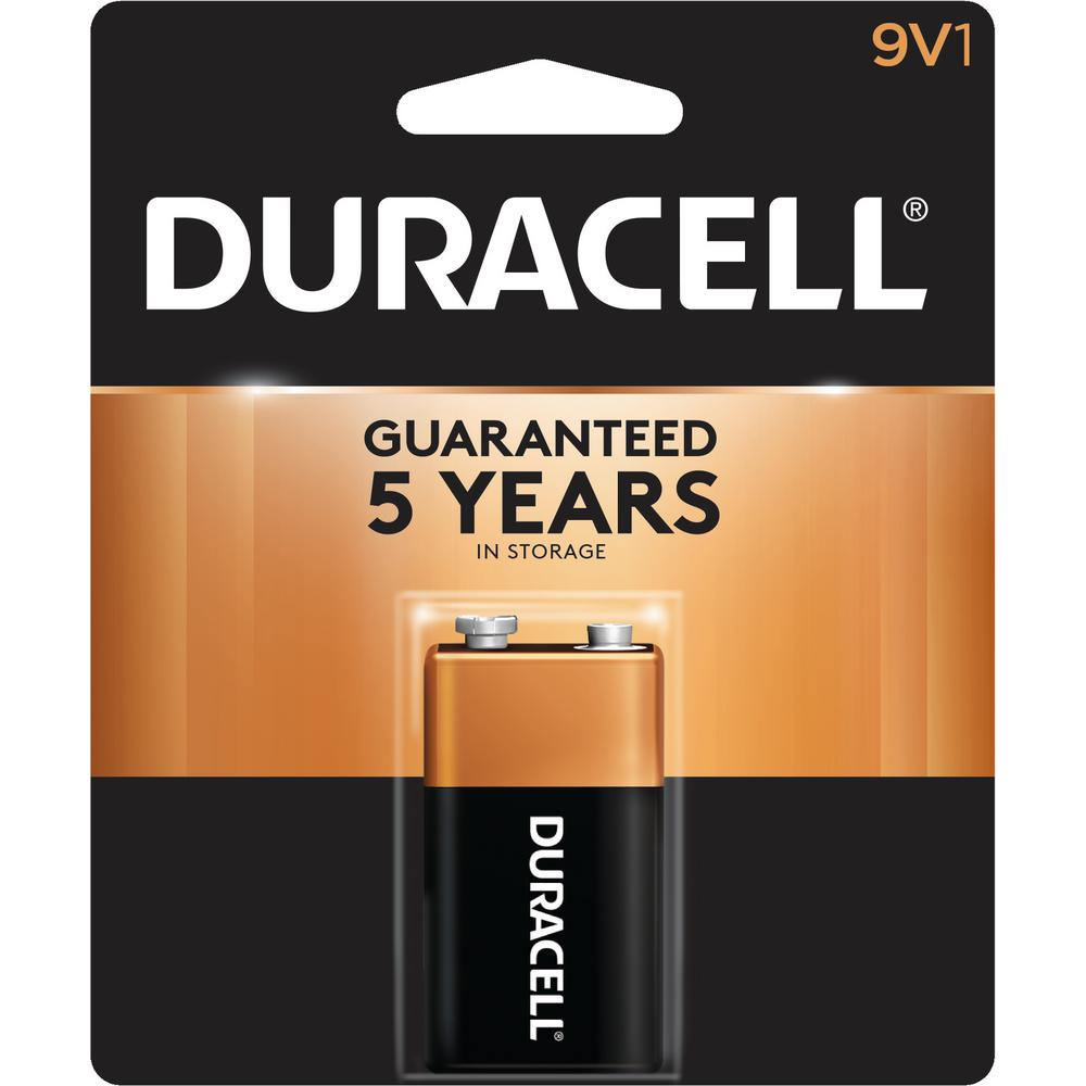 Duracell Coppertop 9-Volt Alkaline Battery