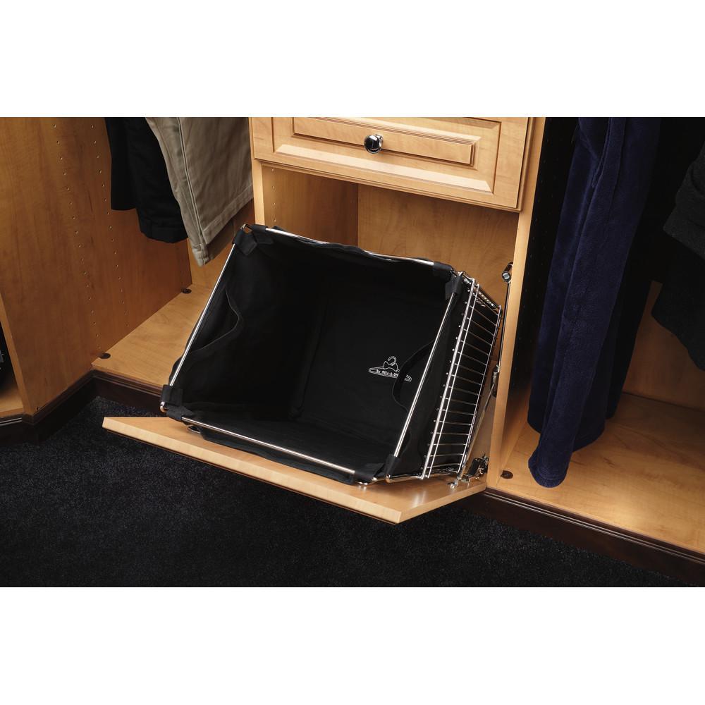 Rev A Shelf 16 In X 19 04 In Single Cloth Insert For Pull Out Hamper Basket Ctohb 16