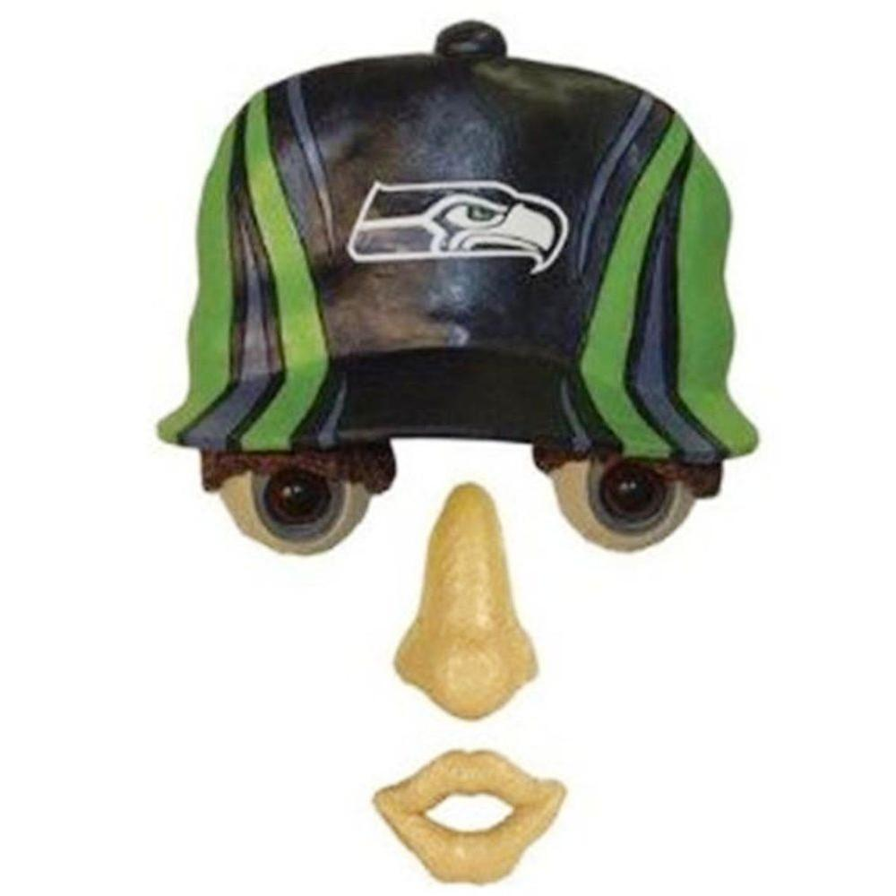 Team Sports America 14 in. x 7 in. Forest Face Seattle Seahawks