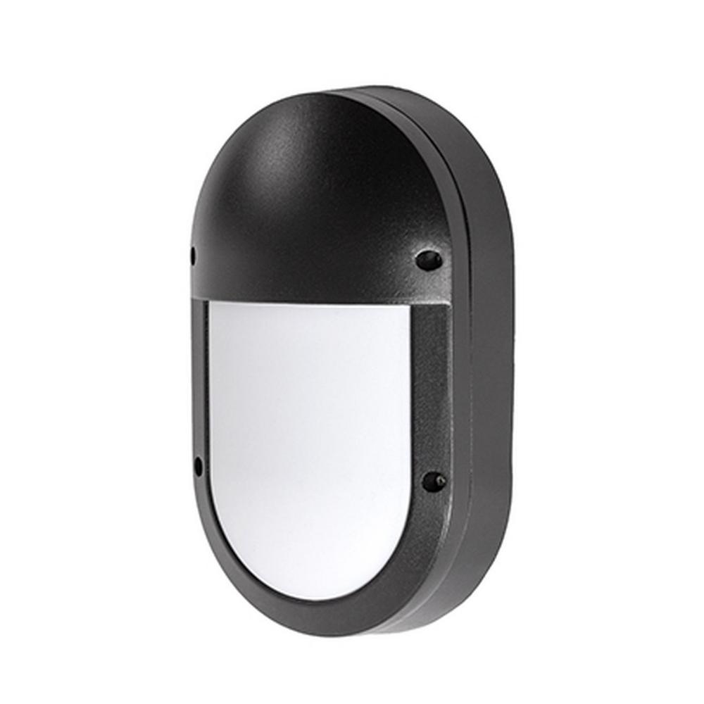 Royal Oak Black Outdoor Integrated LED Wall Mount Sconce