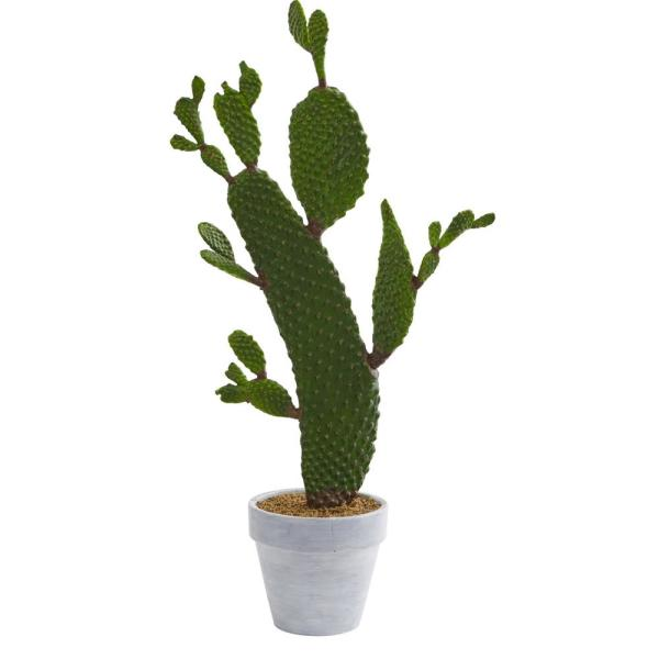 Nearly Natural 27 in. Indoor Cactus Artificial Plant 4337